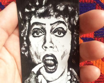 Rocky Horror Picture Show // Frankenfurter // Tim Curry // Magnet // Movie Magnet // Refrigerator Magnet // Rocky Horror Picture Show Gift