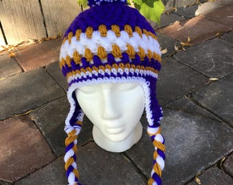 crocheted stocking cap