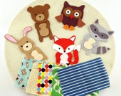 Gift Learning Activity, Felt Board Animals, Felt Quiet Activity Toy Gifts, Activity Montessori Toy Gifts, Preschool Gift Quiet Toys Activity