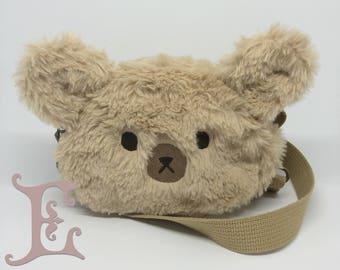 Bear Kids Pouch - Plushy Bear Pouch