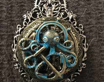 Large octopus locket
