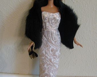 Barbie doll clothes-formal evening
