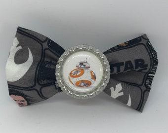 BB8 Star Wars Droid Hair Bow