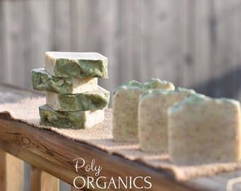 Hemp Soap (handmade soap, handcrafted soap, vegan friendly soap, organic soap, made in canada)