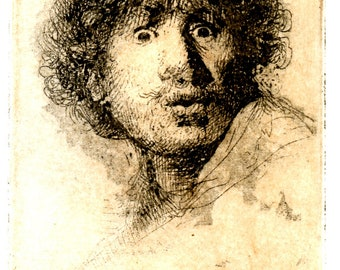 After Rembrandt Selfie