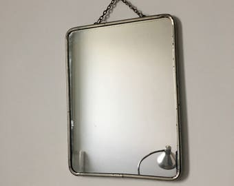 Mirror Barber 24 x 18 cherry vintage 1960's