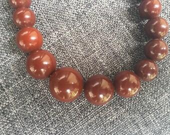 Bakelite necklace  1950