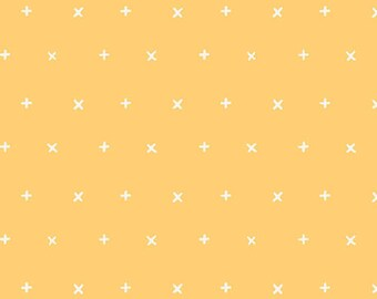 Your Heart Reverie AGF KNIT Floral Fabric Cotton Fabric Jersey Knit Yellow + x Fabric Art Gallery Stretch Fabric