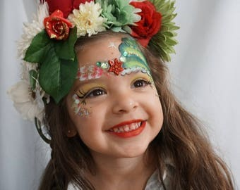 Holiday Flower Crown