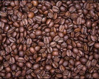 1lb Uganda Organic Bugisu Coffee Beans Double Washed Whole Bean Medium Roast One Pound