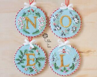"""Embroidery Kit """"Christmas"""" - Ewpensive Kit """"Christmas"""""""