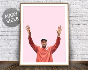 Kanye West Poster • I Feel Like Pablo Merch Kanye West Art Kanye 2020 Kanye Print Life of Pablo Poster Yeezy Poster Yeezy Art Yeezus Poster