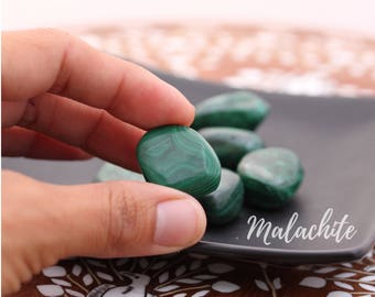 Malachite Tumbled Stone Crystal