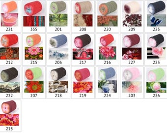 Souffle yarn roll - 280gram roll - 900m per roll - various shades available