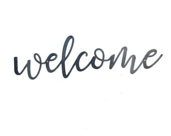 Image result for welcome in cursive