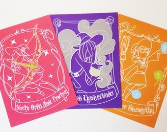 """Little Witch Academia 5x7"""" Prints"""