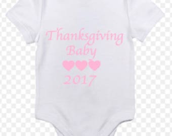 Thanksgiving baby 2017  ***Emily's baby shower**