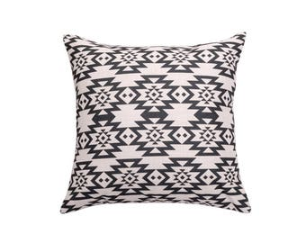 Aztec decorative pillow covers Tribal throw pillow covers Ethinic pillow cases Geometric cushion case Nanajo pillow case Home decor 18x18