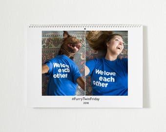 Furry Twin Calendar