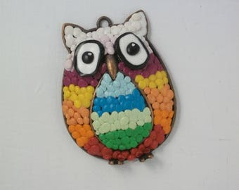 "OWL pendant, OWL PIECE for creating ""Chouette 1"""