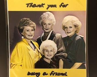 Golden Girls Original Art Print/Card