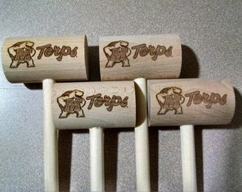 Maryland Terps Crab Mallets  4-pk set