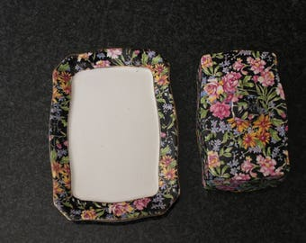 Royal Winton Chintz Butter Dish