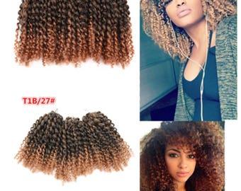 3pc/set Mali Bob Crochet Braids Hair Extensions