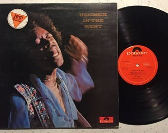 Jimi Hendrix : Hendrix In The West (Vinyl LP)