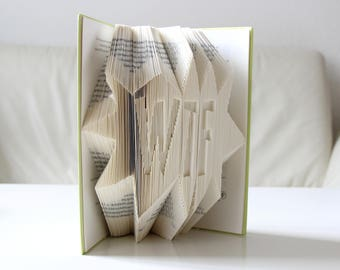 WTF - folded book