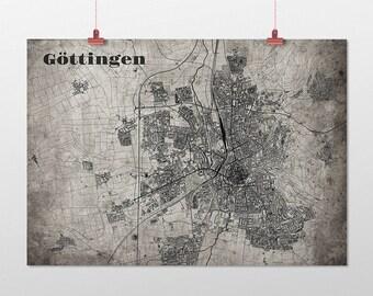 Göttingen - A4 / A3 - print - OldSchool