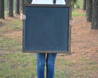 Chalkboard | Chalkboard Sign | Blank Chalkboard | Large Chalkboard | Framed Chalkboard | Square Chalkboard | Wedding Chalkboard | Wall Decor