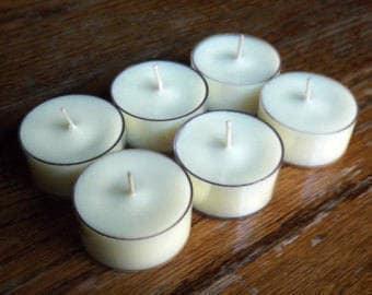 Luscious Vanilla Scented Tea Lights, Vanilla Scent, Vanilla Tea Lights, Vanilla Tea Light Candles, Scented Tea Lights,
