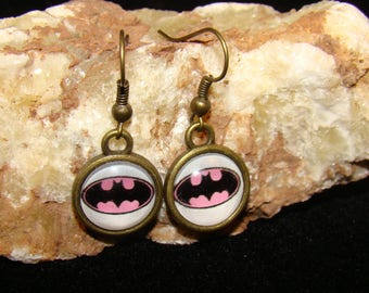 Batwoman Hook Earings