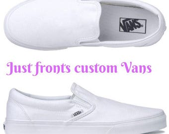 Fronts only custom vans