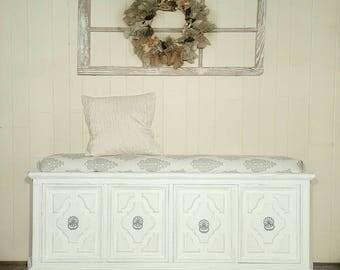 Upholstered Bench SOLD!