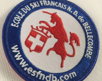 Custom sport patch, embroidered sport patch for clothing