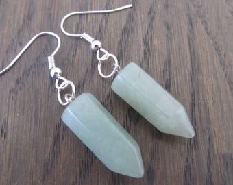 Earrings Bullet Stone