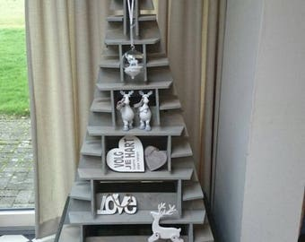 Christmas tree stackable in kist