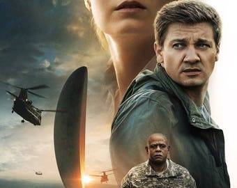 "Arrival movie poster (c) - 11"" x 17"" - Amy Adams, Jeremy Renner"
