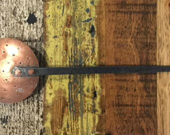 Vintage French Copper Passoir or Skimmer - Free Postage within Australia