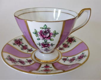 Taylor Kent Rosemary Cup And Saucer Antique Cup And Saucer