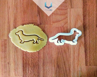 Dachshund Dog Cutter | Exclusive Dough stamps