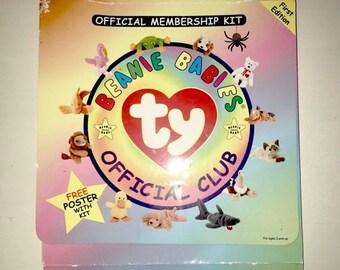 15% Spring Fling Beanie Baby's Club Membership 1990s