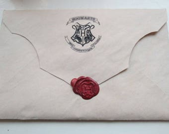 Harry ACCEPTANCE Letter(Personalized) + potion recipes of magic book