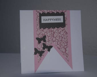 Card for any occasion square shape
