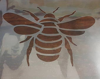 Large Bee Stencil Handcut