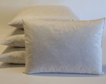 feather and down pillow inserts feather down inserts pillow fills - Down Pillow Inserts