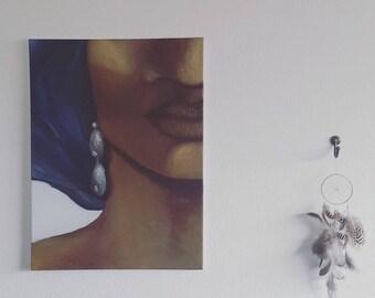 SHOWROOM MAS - Figurative oil painting Decoration.