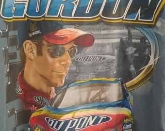 Jeff Jordon Nascar T-Shirt--Size Large